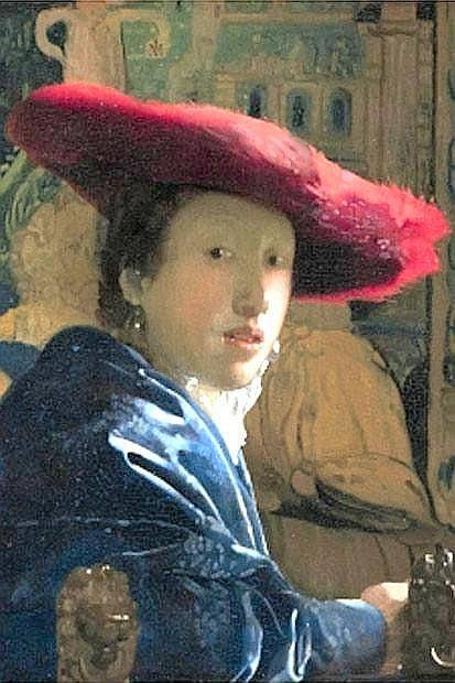 La mostra dei record - Straordinaria richiesta per la mostra «Vermeer, il secolo d'oro dell'arte olandese», dal 27 settembre al 20 gennaio 2013 alle Scuderie del Quirinale, con 56.674 biglietti già prevenduti a un mese dall'inaugurazione. Otto i Vermeer presenti nell'esposizione romana, dalle donne 'idealì, con alcune rarità come «La fanciulla con bicchiere di vino», eccezionalmente prestata dal Museo Anton-Herzog di Braunschweig, o la «Fanciulla con il cappello rosso» (nella foto) da Washington, alla celeberrima «Stradina» da Amsterdam.  I Vermeer saranno affiancati da cinquanta capolavori degli artisti suoi contemporanei, icone della pittura olandese del secolo d'oro, da Pieter De Hooch a Franz Hals, da Gerrit Ter Borch a Gabriel Metsu, tutti accomunati da una particolare abilità per le diverse tecniche di rappresentazione della luce su materiali e superfici differenti. (foto Ansa)