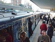 Treni alla stazione di Casal Bernocchi (foto da Romatoday)