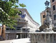 La fontana che il Comune avrebbe voluto spostare all'Ara Pacis (Jpeg)