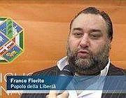 Franco Fiorito intervistato nella sede del Consiglio regionale a Roma