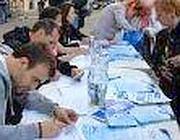 Raccolta di firme per la legge regionale sull'acqua