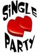 La locandina di una festa per single in un locale di Roma