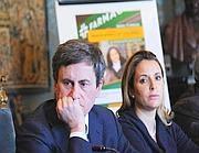 Gianni Alemanno e il vicesindaco Sveva Belviso (Omniroma)
