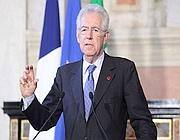 Il presidente del Consiglio Mario Monti (Eidon)