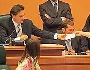 Claudio Fazzone apre il primo consiglio regionale con Polverini presidente (Jpeg)