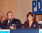 Fiorito ad un convegno Pdl con Renata Polverini