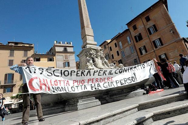 Tlc in sciopero foto del giorno corriere roma for Ordine del giorno camera dei deputati