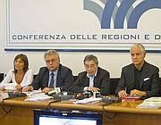 Polverini alla Conferenza delle Regioni (Ansa)