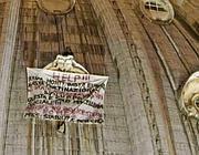 Di Finizio sulla cupola di San Pietro (foto Proto)