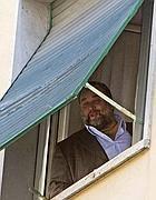 Franco Fiorito a casa poco prima dell' arresto (Proto)