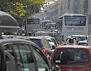 Il traffico sul Lungotevere (Jpeg)