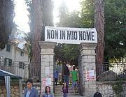 Una protesta contro il sacrario a Graziani
