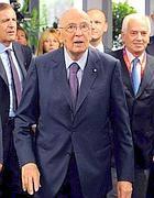 Napolitano (Ansa)
