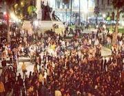 La rissa di sabato 6 ottobre a piazza Cavour