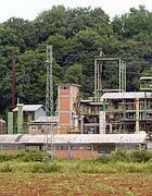 L'impianto dove si producevano i pesticidi organici