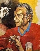 Autoritratto di Guttuso (foto Jpeg)