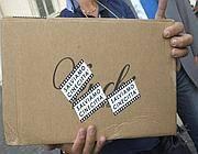 La busta contenente l'appello e le firme (Jpeg)