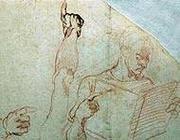 Uno dei 26 disegni di Michelangelo Buonarroti