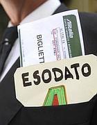 La manifestazione di sabato al ministero dell'Economia (Eidon)
