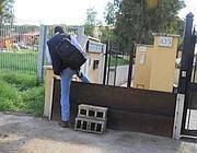 Barriere anti alluvione nella zona di Casal Palocco a Roma  (Proto)