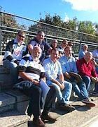 Ex Rugby Roma in tribuna