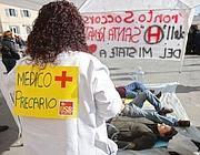 Una protesta di medici del Lazio (Jpeg)