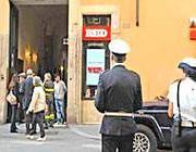 Il palazzo in via del Corso dove è avvenuto il cedimento (Proto)