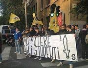 Militanti di Lotta studentesca al Galilei
