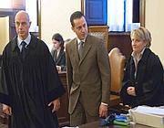 Paolo Gabriele in tribunale (Eidon)