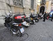 Motorini nel centro storico (Proto)