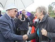 Manlio Cerroni con le euro deputate (Jpeg)
