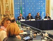La pre apertura dei lavori dell'81 sima assemblea generale dell'Interpol (Proto)