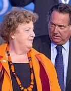 IL ministro Cancellieri con Manganelli (Ansa)