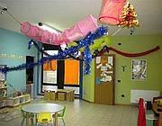 Una stanza dell'asilo «La bussola d'oro» (Adnkronos)