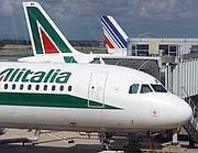 Aerei Alitalia a Fiumicino