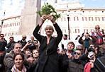 Antiproibizionisti - Manifestazione antiproibizionista  venerdì mattina in piazza Montecitorio, per l'accesso alla cannabis terapeutica e la depenalizzazione per uso personale della coltivazione della marijuana. Iniziativa è stata promossa dal Partito Radicale (foto Eidon)