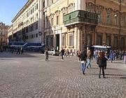 Piazza Venezia blindata: chiuso accesso su via del Corso e via del Plebiscito