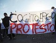 La protesta degli studenti (Jpeg)