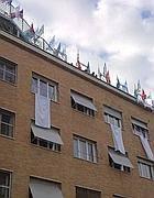Sindacalisti sul tetto dell'Idi (Jpeg)