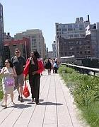 La high line, ex ferrovia sospesa del Meatpack district a New York (Zanini)