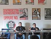 La conferenza stampa di Casapound (Jpeg)