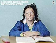 Un'immagine di una campagna anti bullismo
