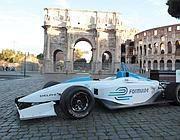 Una delle auto di Formula E (Jpeg)