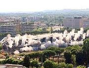 L'implosione del Velodromo nel 2008
