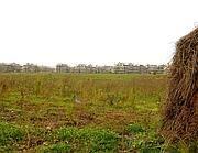 I terreni alla Bufalotta su cui dovrebbero sorgere le nuove case per militari