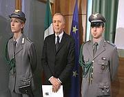 L'arresto di  Giuseppe Ambrosio (Imagoeconomica)