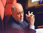 Il senatore Luigi Lusi (Imagoeconomica)