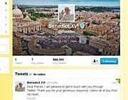 Il profilo twitter @pontifex di Benedetto XVI