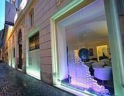 L'esterno del First Art Luxory Hotel di via del Vantaggio (Jpeg)