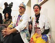 Fischietto e Trolla, due veri clown dell'associazione «La carovana dei sorrisi» (Proto)
